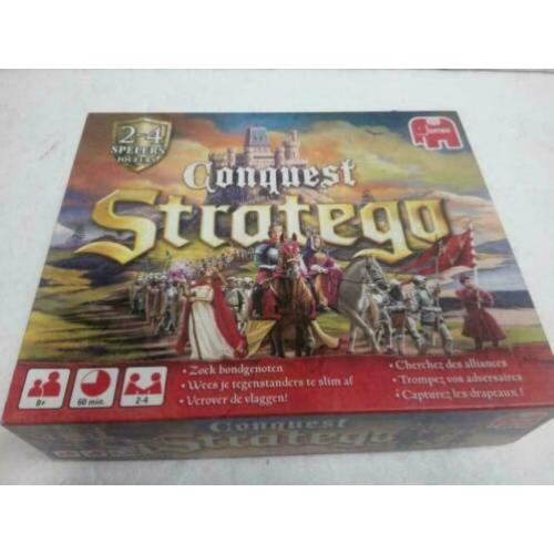 Stratego conquest nieuw 2-4 spelers