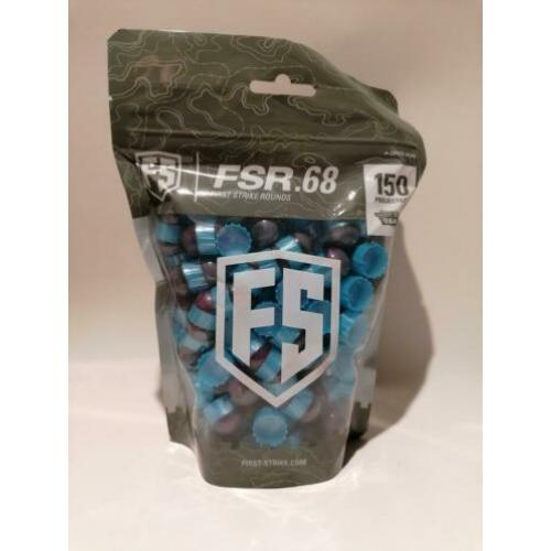 Paintball paintballs first strike 150stuks 64,95