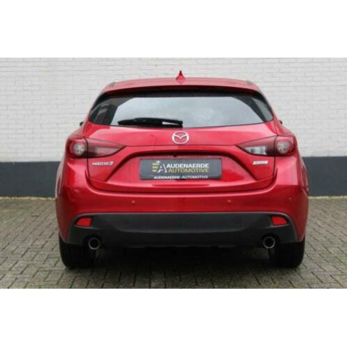 Mazda 3 2.0 GT-M Leer | head-up | Bose | Navigatie