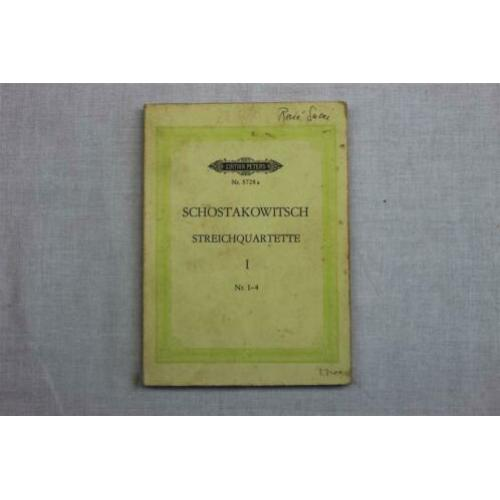 Edition Peters Dmitri Schostakowitsch Nr. 5728a