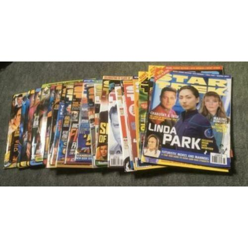 Star Trek Monthly magazine, SFX, Flying Dutch, Voyager Scifi