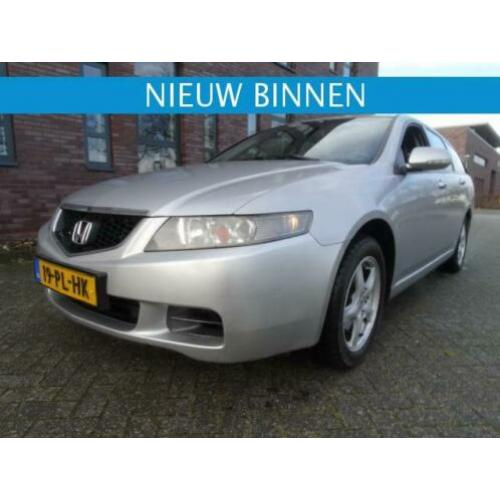 Honda ACCORD TOURER; 2.2 I-CTDI leder interieur