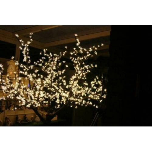 20 Led Sier of decoratiebomen groen - pink - wit nr 1